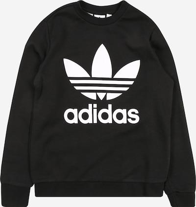 ADIDAS ORIGINALS Sweatshirt  'Trefoil' in schwarz / weiß, Produktansicht