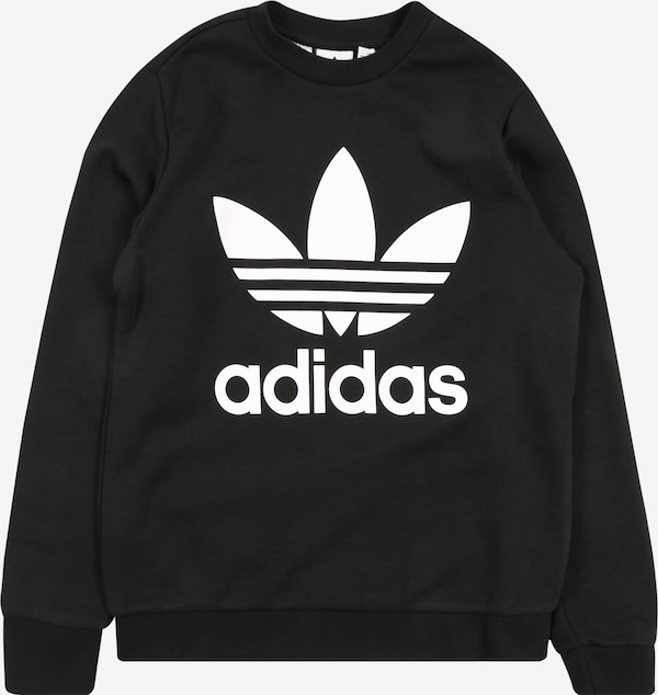 Metro Implementar Sencillez  ADIDAS ORIGINALS Mikina 'Trefoil' - Čierna | ABOUT YOU