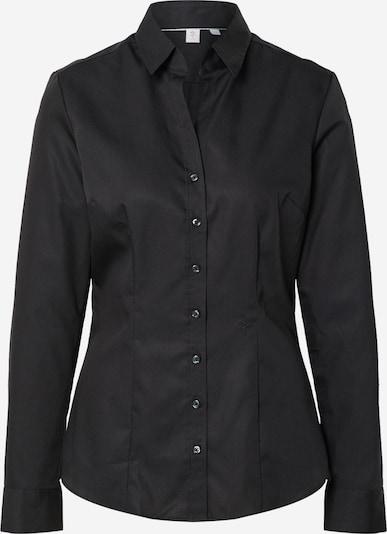 SEIDENSTICKER Blouse 'Schwarze Rose' in de kleur Zwart, Productweergave