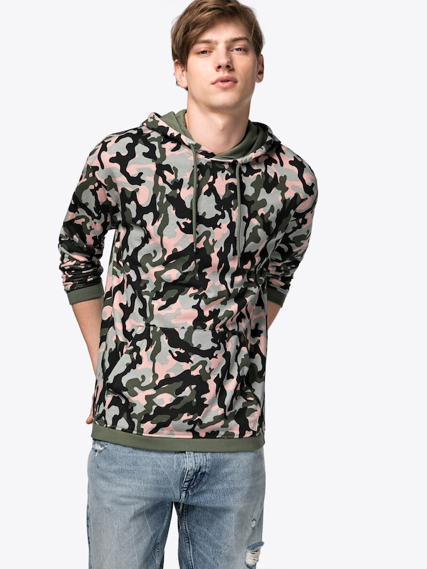 JACK & JONES Kapuzenpullover 'JORTIPPI SWEAT HOOD'