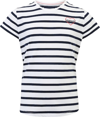 TOMMY HILFIGER T-Shirt im Ringel-Look 'AME STRIPED'