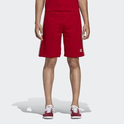 ADIDAS ORIGINALS Bukser i rød / hvid, Modelvisning