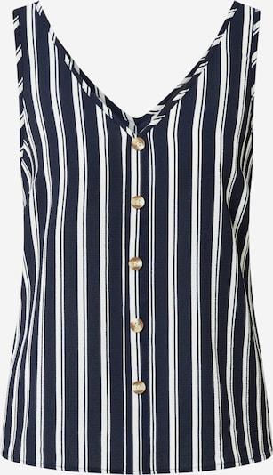 Bluză 'SASHA' VERO MODA pe albastru noapte / alb, Vizualizare produs