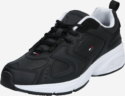 Tommy Jeans Sneaker 'HERITAGE' in schwarz / weiß, Produktansicht