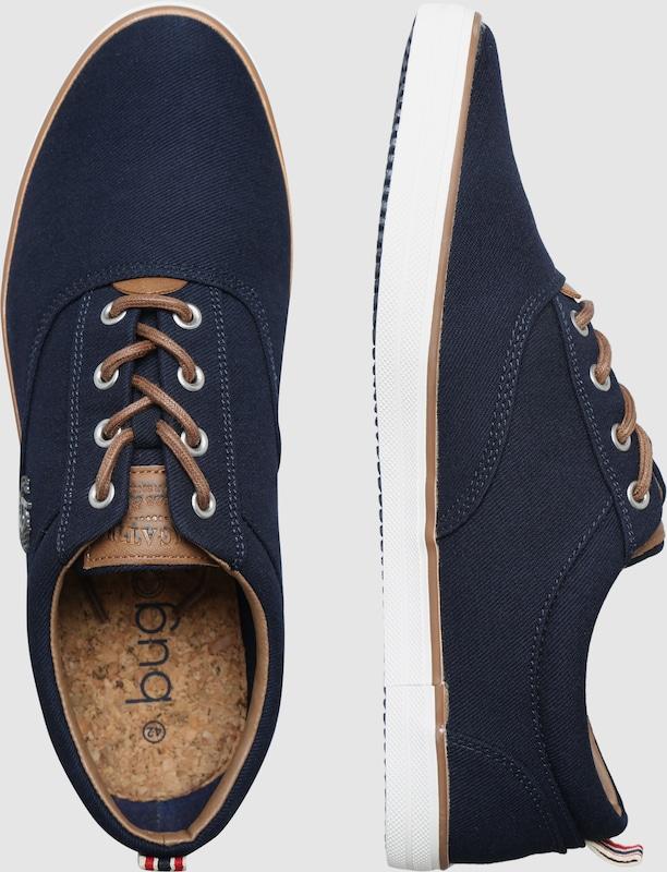 bugatti Sportliche Schnürschuhe Verschleißfeste billige Schuhe