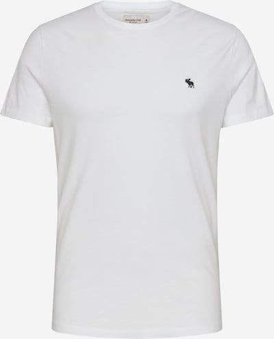 Tricou Abercrombie & Fitch pe navy / alb, Vizualizare produs