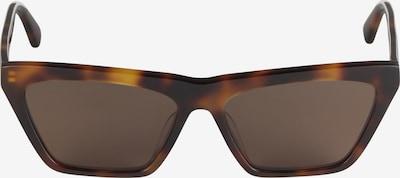 McQ Alexander McQueen Lunettes de soleil 'MQ0192S-002 54 Sunglass WOMAN ACETATE' en marron, Vue avec produit