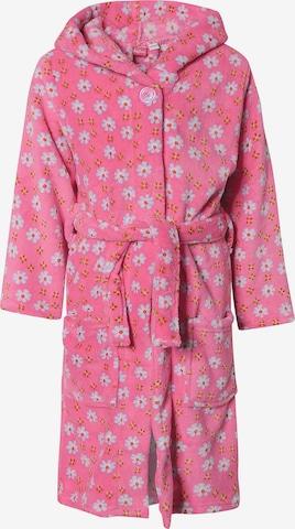 PLAYSHOES Bathrobe 'Maritim' in Pink