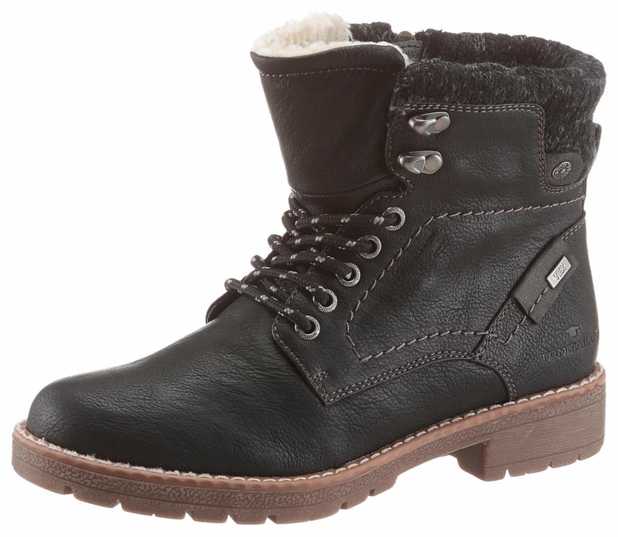 Haltbare Mode billige Schuhe TOM TAILOR | Schnürboots Schuhe Gut getragene Schuhe