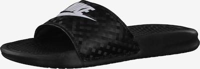 fekete / fehér Nike Sportswear Papucs 'Benassi JDI', Termék nézet