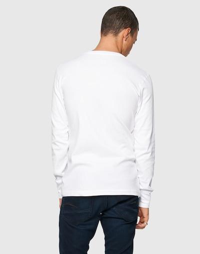Maglietta KnowledgeCotton Apparel di colore bianco: Vista da dietro