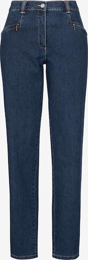 Recover Pants Jeans mit Reißverschlußtaschen in blue denim, Produktansicht