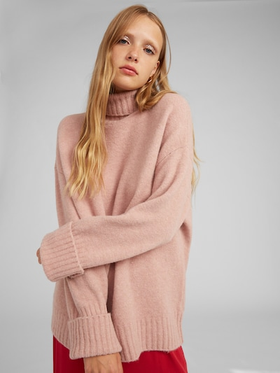 EDITED Pullover 'Lou' in pink, Modelansicht