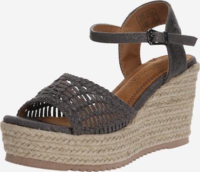 Refresh Sandale in dunkelgrau, Produktansicht