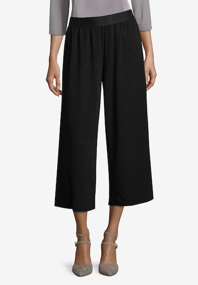 Betty Barclay Culotte im Glitzer-Look in schwarz: Frontalansicht