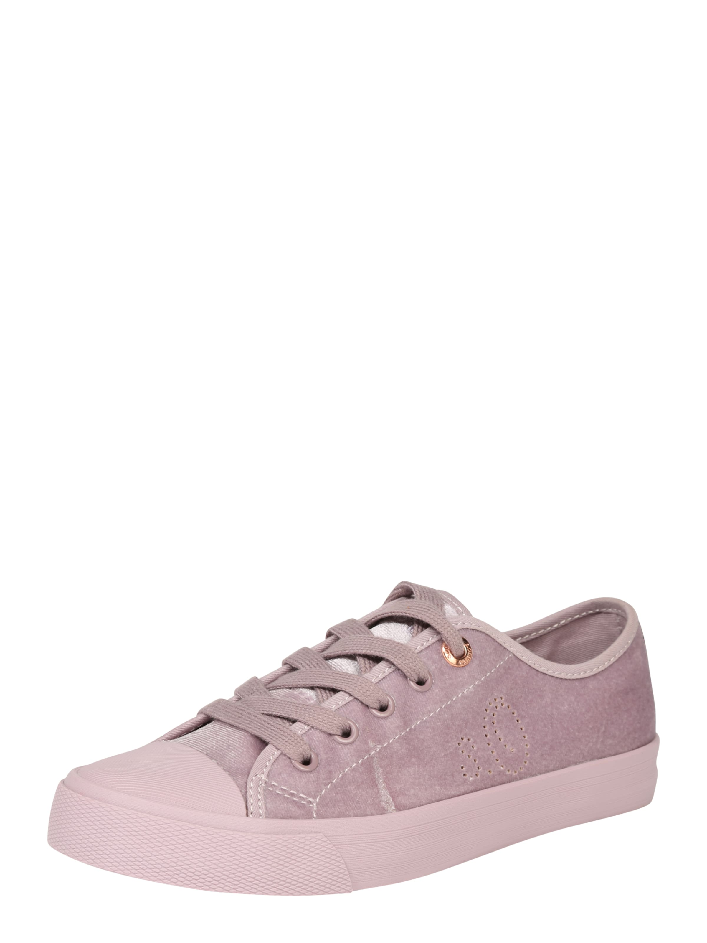 S.Oliver RED LABEL Sneaker im Samt-Look lila NG6h00h8dh