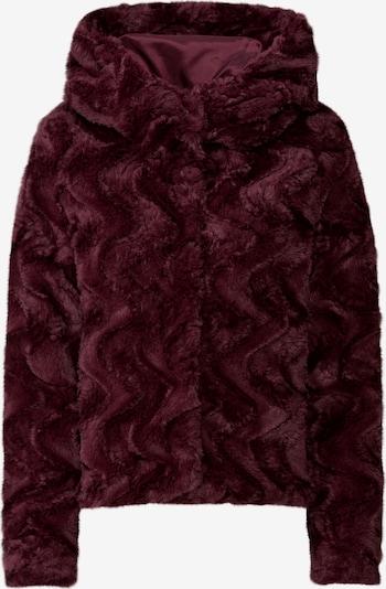 Demisezoninė striukė 'VMCURL HOODY' iš VERO MODA , spalva - vyno raudona spalva: Vaizdas iš priekio