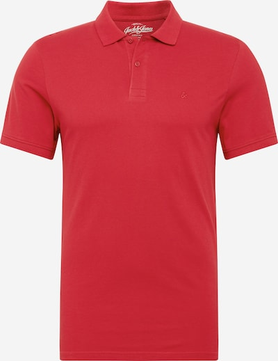 JACK & JONES Poloshirt in rot, Produktansicht