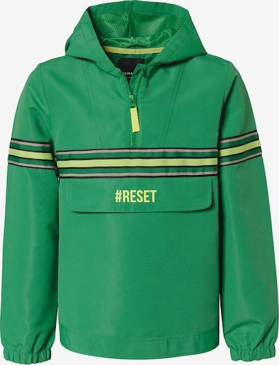 myToys-COLLECTION Jacke in gelb / hellgrün / pastellpink / schwarz, Produktansicht