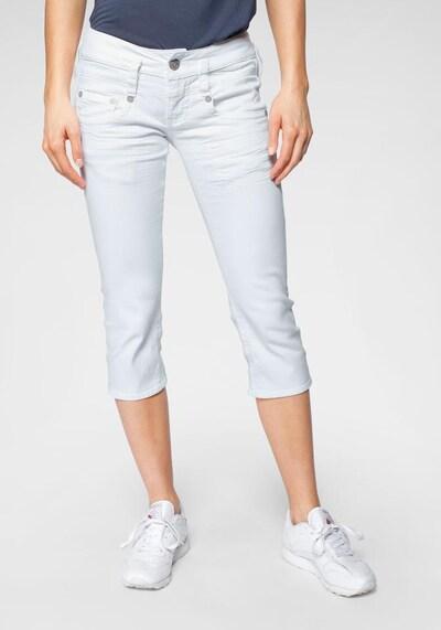 Herrlicher Jeans 'Pitch Short Drill Stretch' in weiß, Modelansicht
