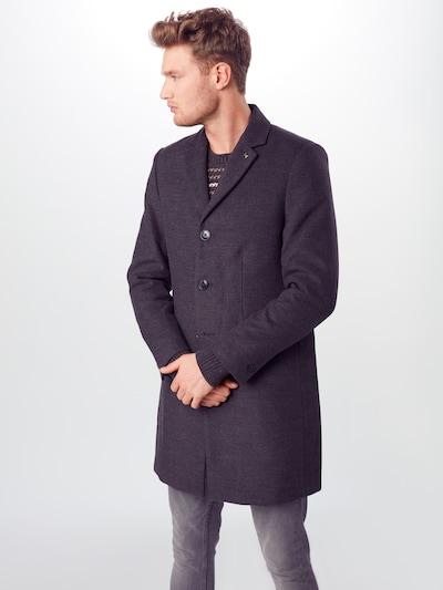 BURTON MENSWEAR LONDON Mantel 'charcoal faux crombie mid' in grau, Modelansicht
