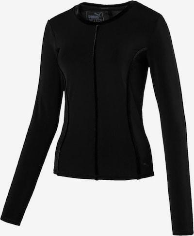PUMA Shirt 'Nocturnal Velvet LS Tee' in schwarz: Frontalansicht