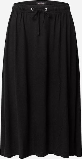 STREET ONE Jupe 'EOS_solid_Midi skirt UNI' en noir, Vue avec produit