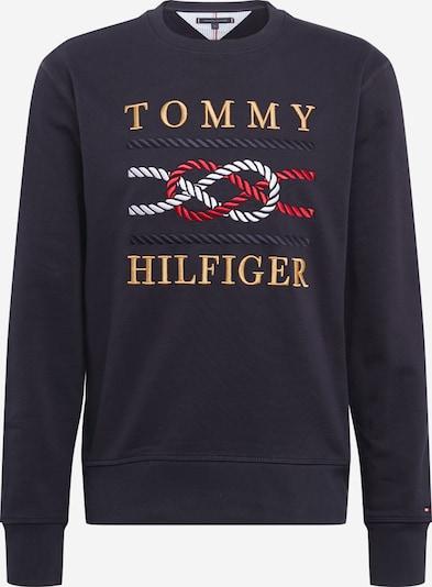 TOMMY HILFIGER Sweatshirt in marine / senf / rot / weiß, Produktansicht