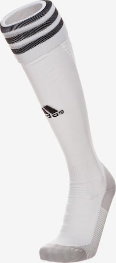 ADIDAS PERFORMANCE Sockenstutzen 'Adi Sock 18' in grau / weiß, Produktansicht