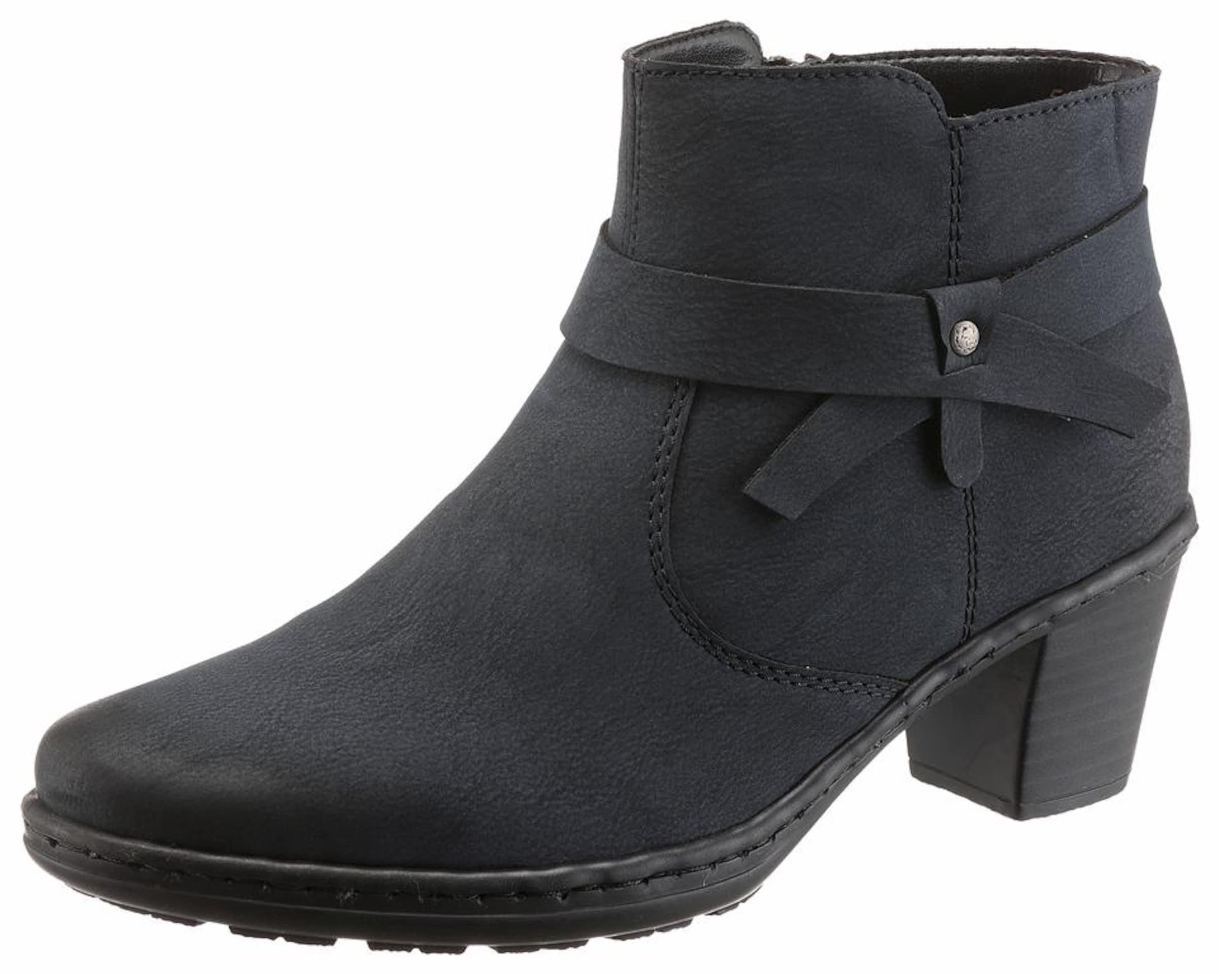 RIEKER Winterstiefelette Verschleißfeste billige Schuhe Hohe Qualität