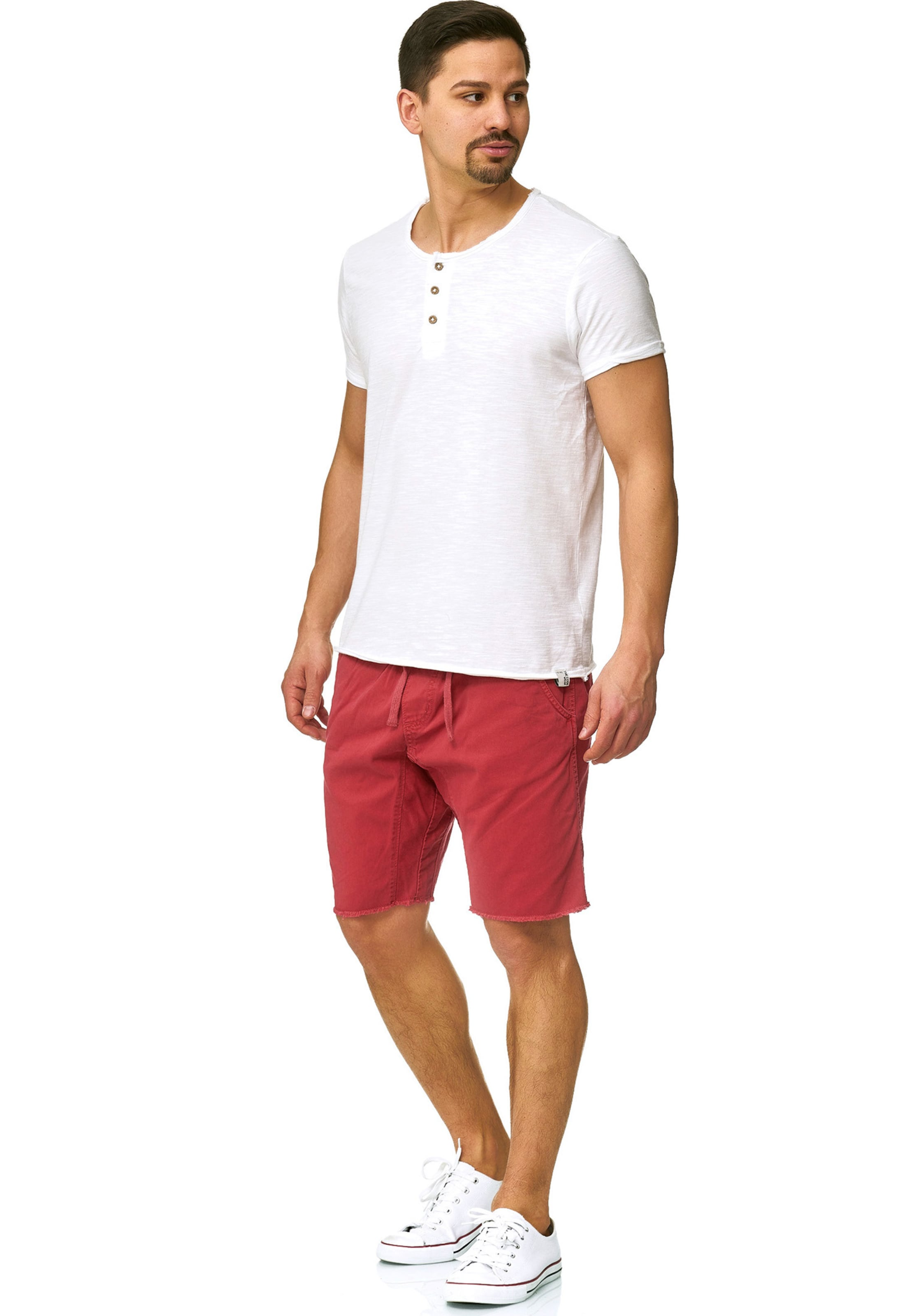 En Rouge Indicode Chino Pantalon Pastel Jeans 'carver' 45LARj