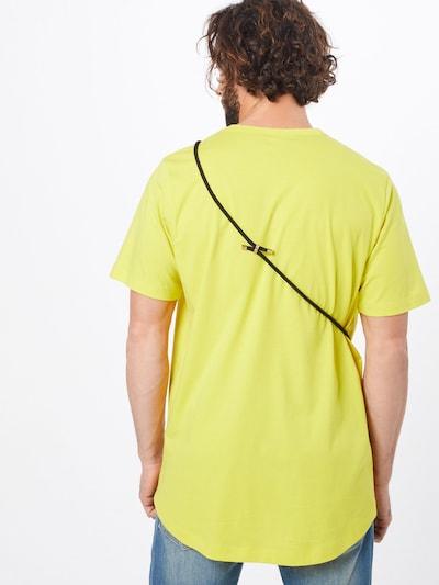 ABOUT YOU X PARI T-Shirt 'Ben' in gelb / schwarz / weiß: Rückansicht