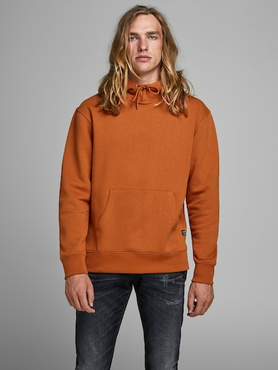 JACK & JONES Sweatshirt in de kleur Neonoranje: Vooraanzicht
