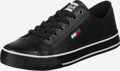 Tommy Jeans Sneaker ' Leather City ' in schwarz, Produktansicht