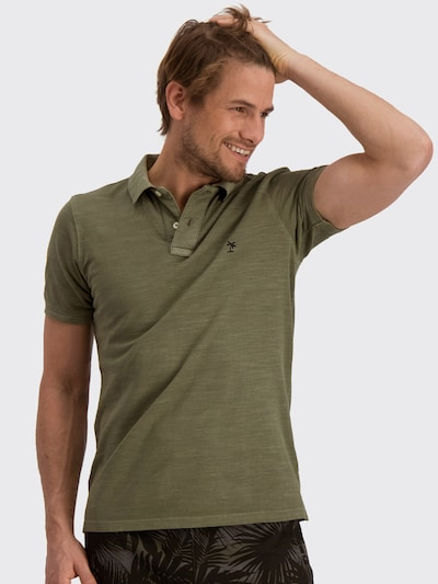 Shiwi Shirt 'Bart' in de kleur Groen: Vooraanzicht