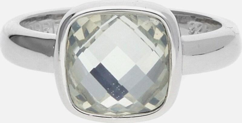ESPRIT Damen Fingerring 925 Silber Silber Fever ESRG91659C