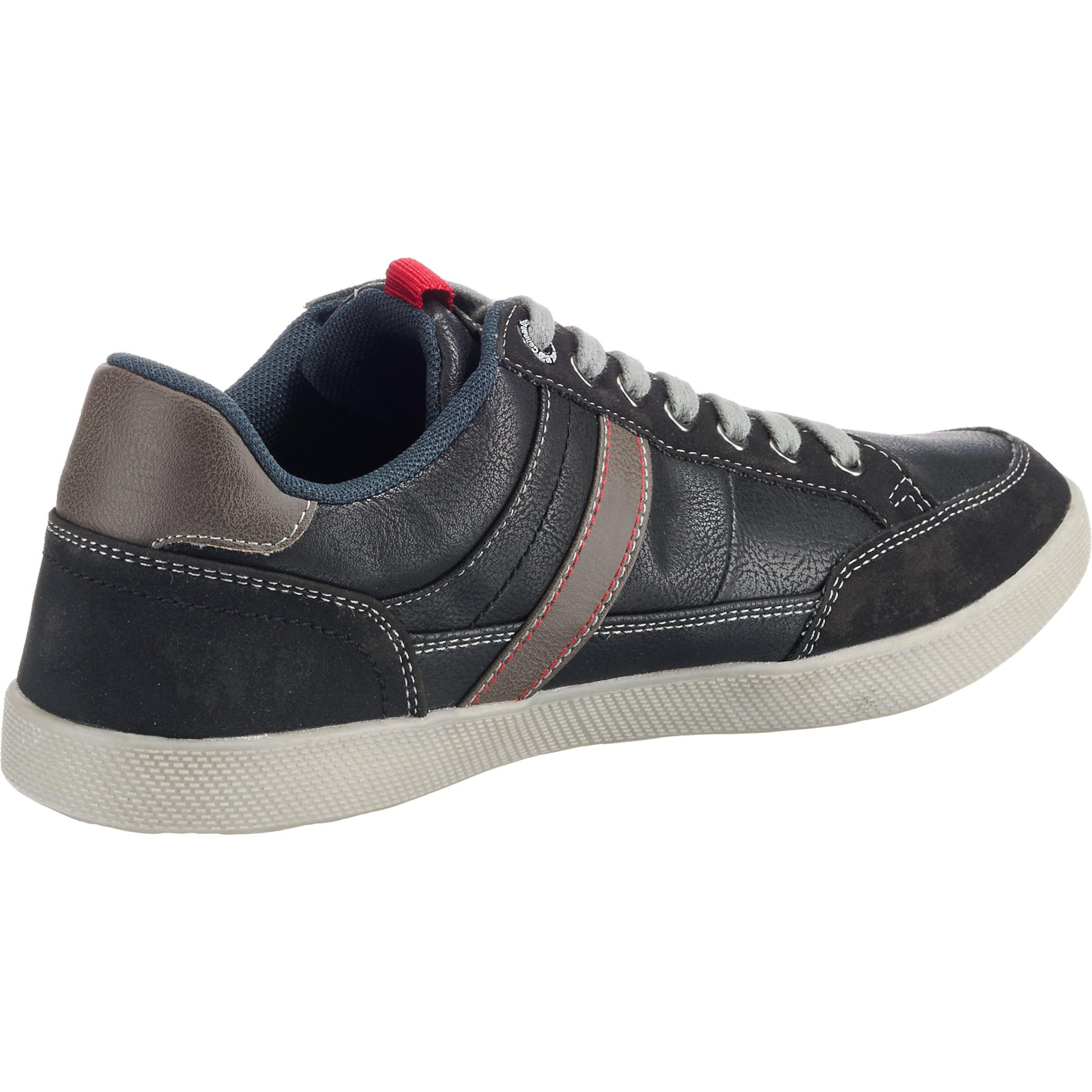 Red Sneaker oliver Label Schwarz S In zMVSUqp