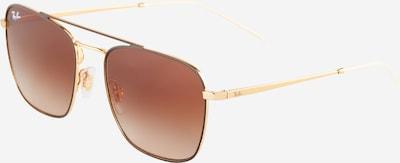 Occhiali da sole Ray-Ban di colore marrone / oro, Visualizzazione prodotti