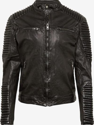 BE EDGY Lederjacke 'BEbaker' in schwarz, Produktansicht