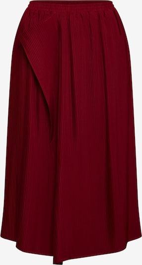 Pop Copenhagen Plisseerock in rot, Produktansicht