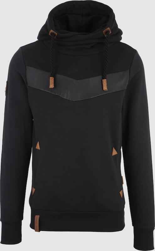 Naketano Kapuzensweater in braun   schwarz  Große Preissenkung