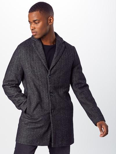 BLEND Prehoden plašč | siva barva, Prikaz modela