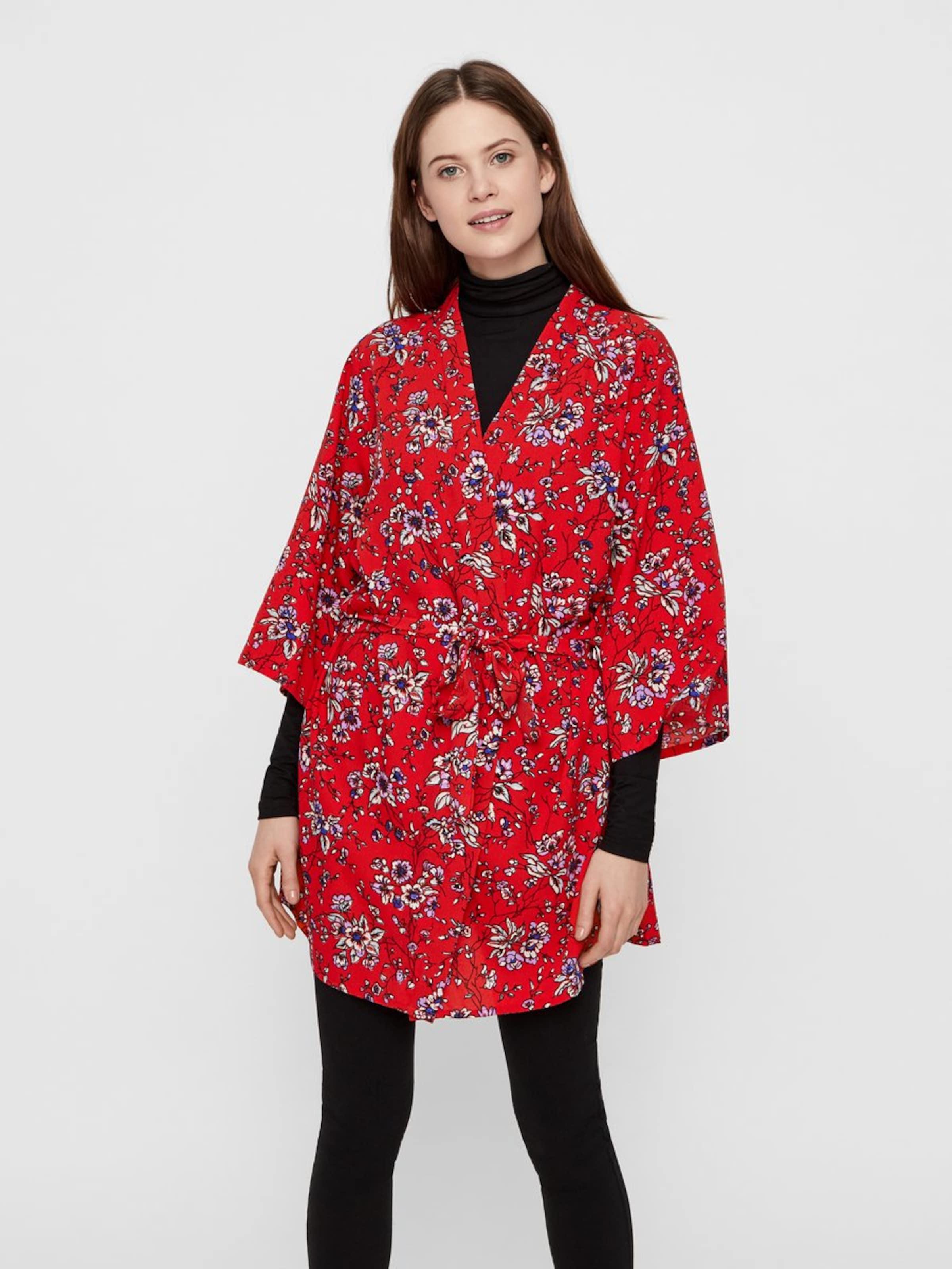 Pieces Mélange De Kimono CouleursHomard En m8nN0Ovw