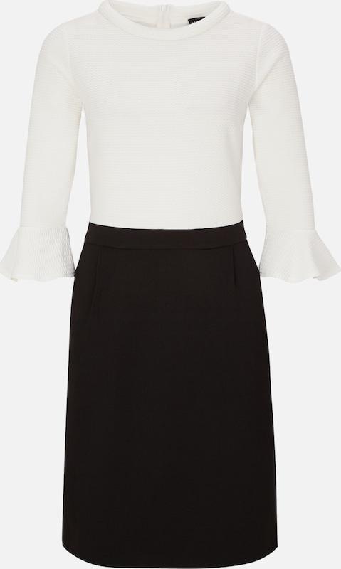 S.Oliver schwarz LABEL Kleid in schwarz   weiß  Neu in diesem Quartal
