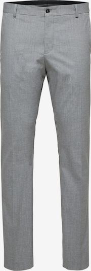 SELECTED HOMME Pantalon à plis en gris, Vue avec produit