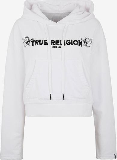 True Religion Sweatshirt in de kleur Zwart / Wit, Productweergave