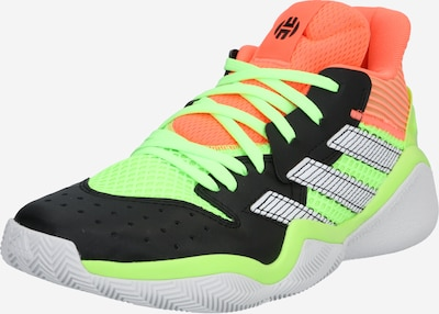 ADIDAS PERFORMANCE Sportske cipele 'Harden Stepback' u neonsko zelena / neonsko narančasta, Pregled proizvoda