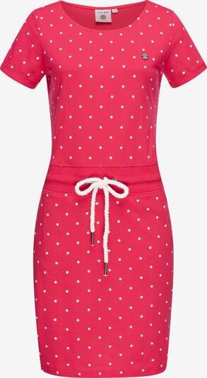 Peak Time Sommerkleid 'L80023' in pink / weiß, Produktansicht