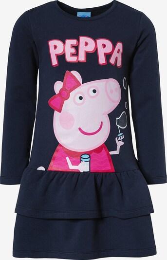 Peppa Pig Kleid in dunkelblau / rosa / pitaya / pastellpink / hellpink, Produktansicht