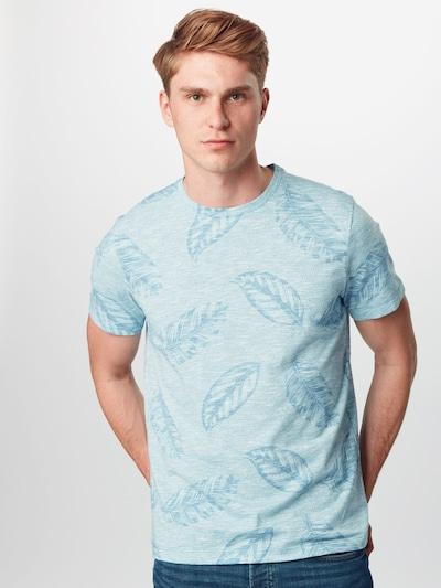 SELECTED HOMME Koszulka 'HARVIN' w kolorze niebieski / jasnoniebieskim: Widok z przodu